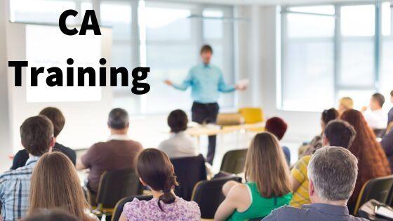CA Training