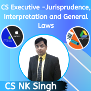 CS Executive -Jurisprudence, Interpretation and General Laws