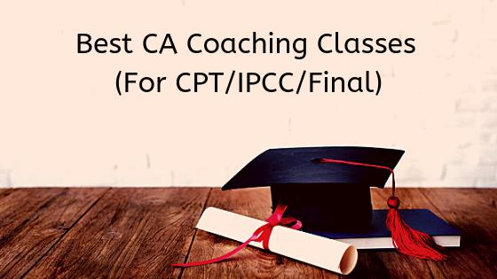 CA Coaching Classes for CPT,IPCC,CA Final
