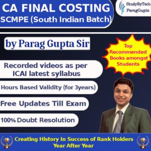 Parag Gupta Sir Costing Class