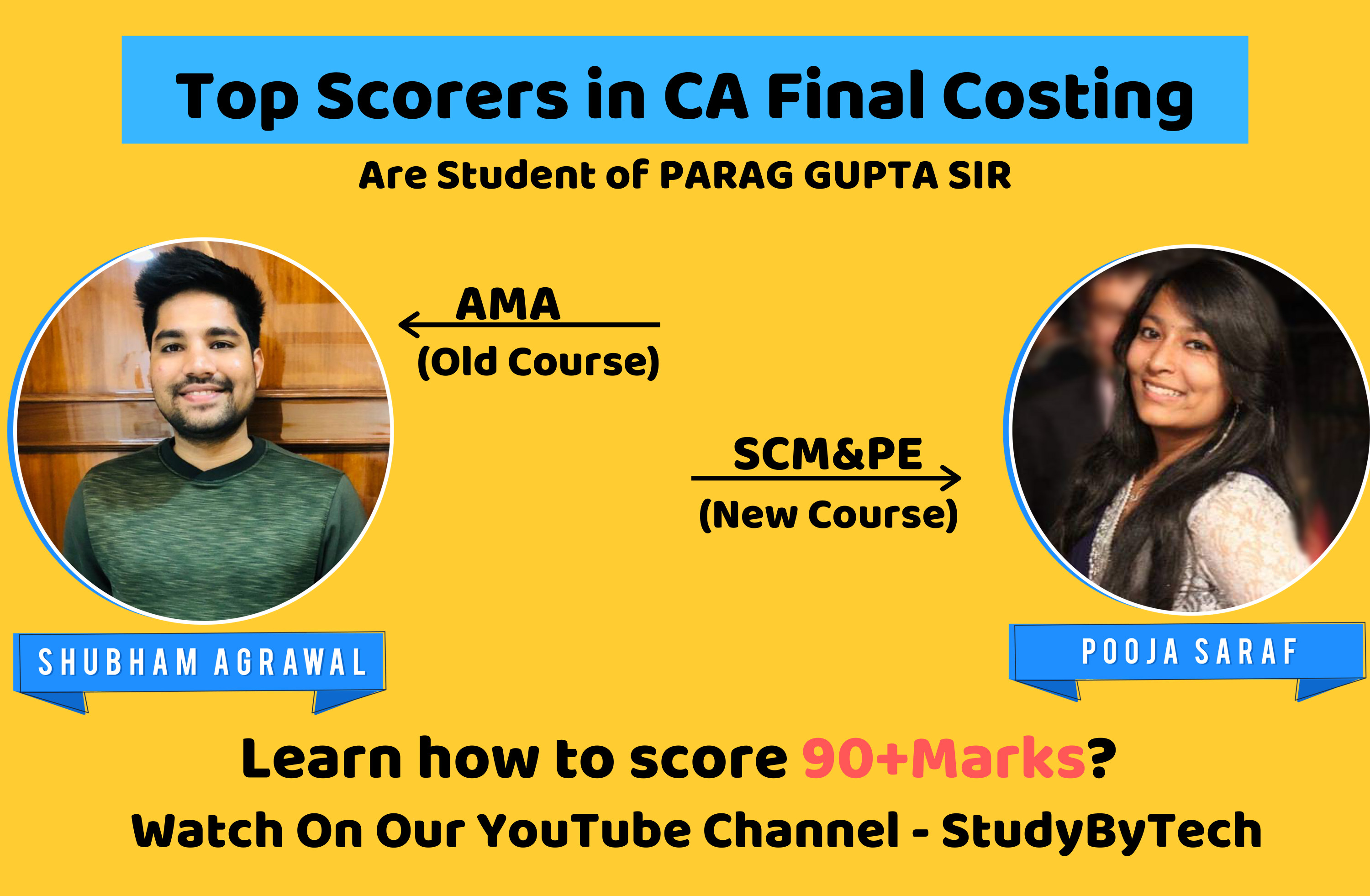 Top Scorers in CA Final Costing