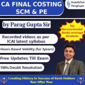 Parag Gupta Sir Costing Classe